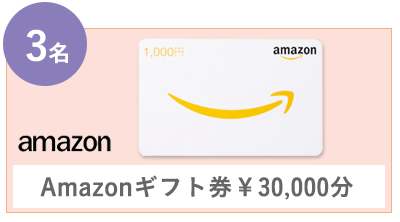 Amazonギフト券¥30,000